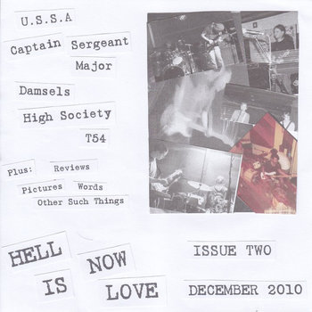 Hell Is Now Love - Issue Two December 2010 cover art