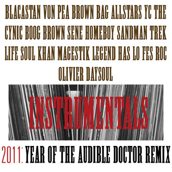 2011: Year Of The Audible Doctor Remix (Instrumentals) cover art