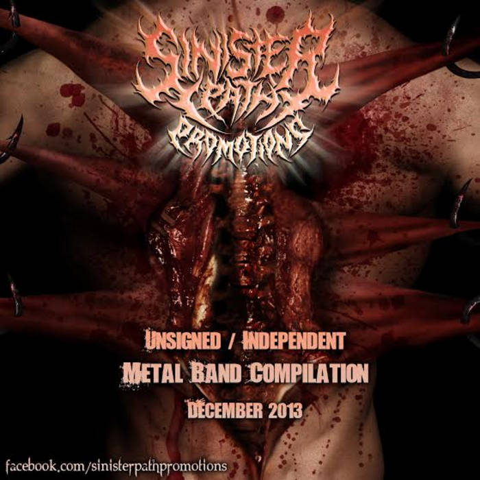 Unsigned / Independent Metal Band Compilation December 2013 cover art