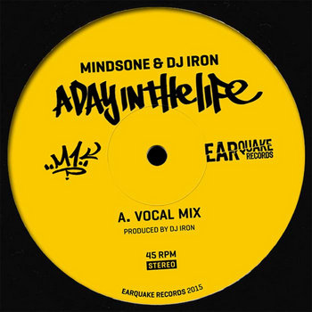 MindsOne & Dj Iron - A Day in the Life (7'' single) cover art