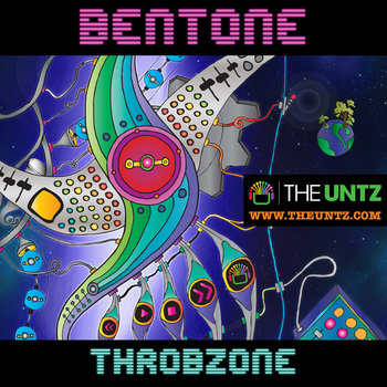 Bentone - Throbzone EP cover art