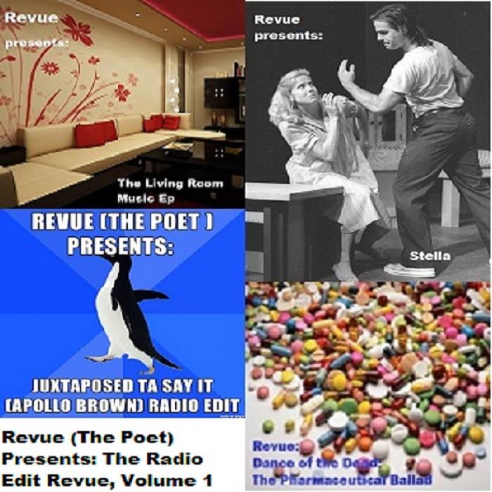 The Radio Edit Revue Volume 1 cover art