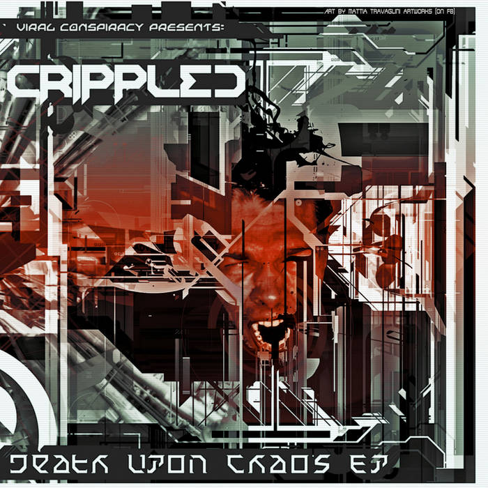 Crippled - Death Upon Chaos EP cover art