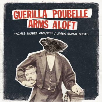 Living Black Spots (Split w/ Guerilla Poubelle) cover art