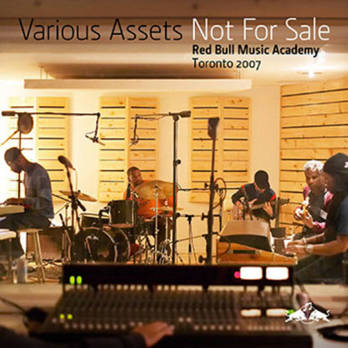 Various Assets - Not For Sale: Red Bull Music Academy Toronto 2007 cover art