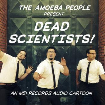 """Dead Scientists"" Episode One: Alfred Wegener cover art"