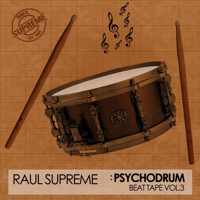 PsychoDrum: Beat Tape Vol.3 cover art