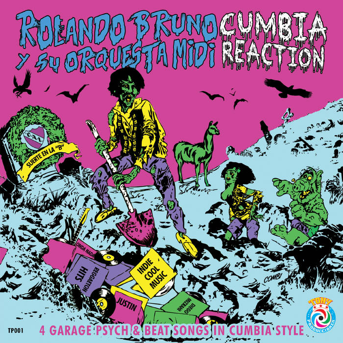 CUMBIA REACTION cover art
