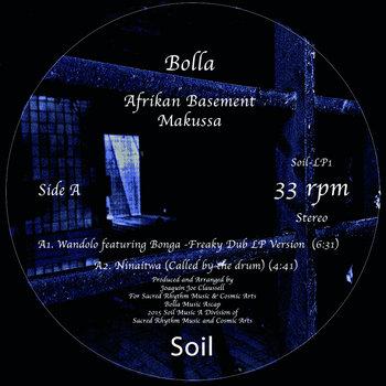 "Bolla - Afrikan Basement - Double 12"" Vinyl Package cover art"