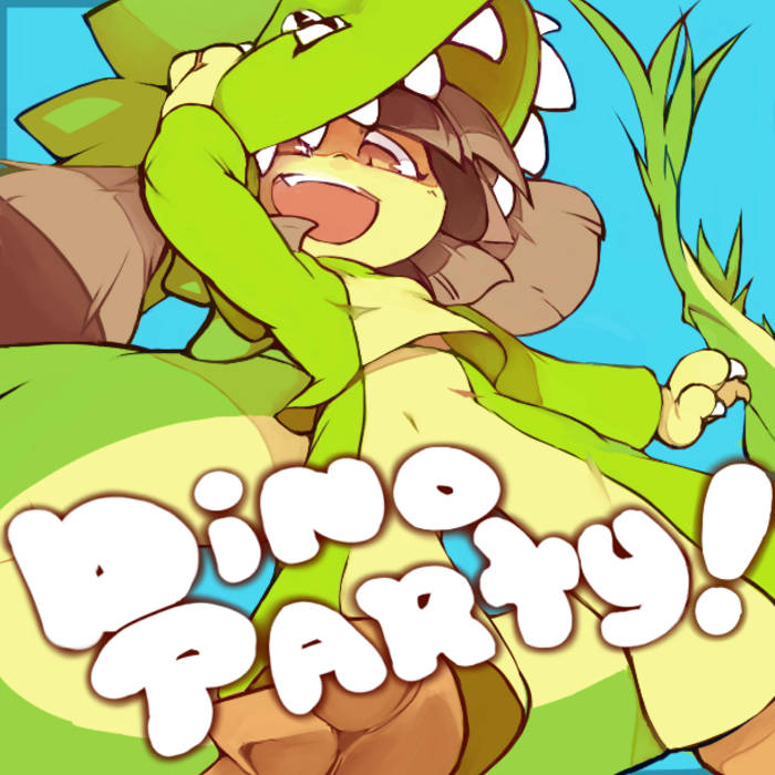 dino party! cover art