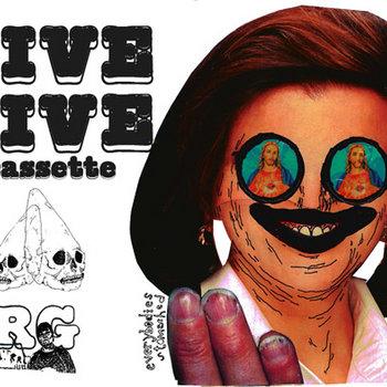 """LIVE"" LIVE CASSETTE cover art"