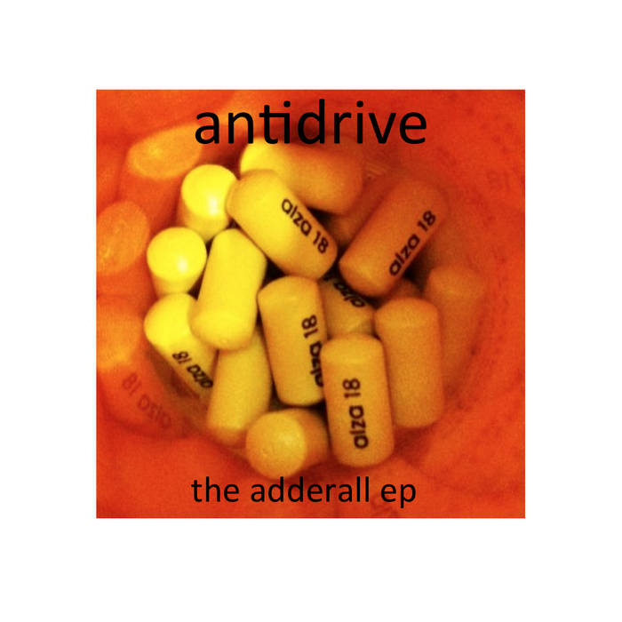 The Adderall EP cover art