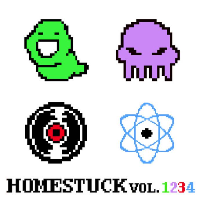 Homestuck Vol. 1-4 cover art