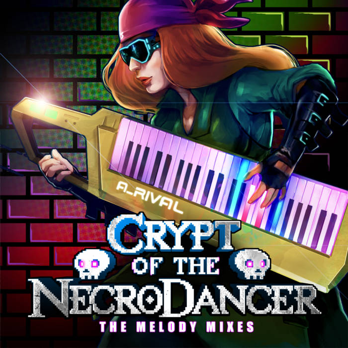 Crypt of the Necrodancer: The Melody Mixes cover art