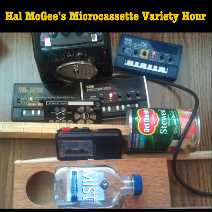 Hal McGee's Microcassette Variety Hour (2012) cover art