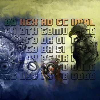 Hexadecimal - The music of Droidscape Basilica cover art