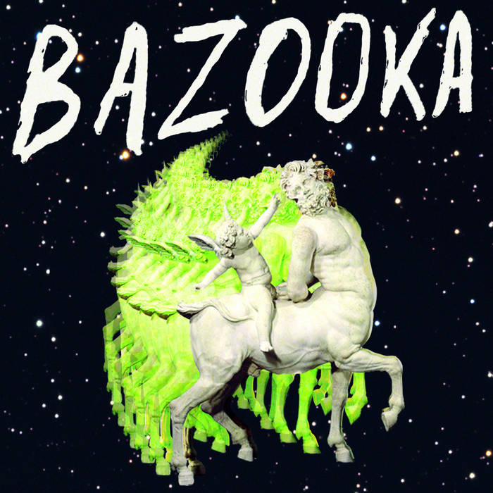 "BAZOOKA ""Self Titled"" LP cover art"