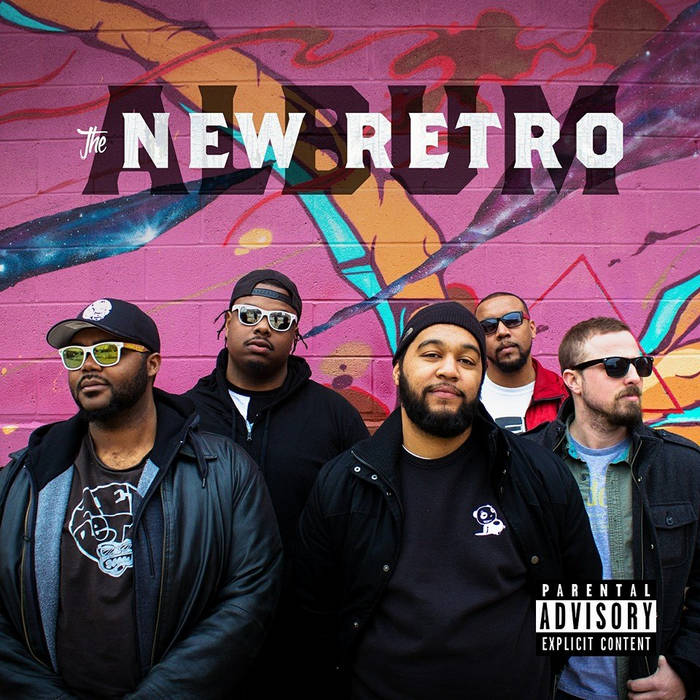 The New Retro Album cover art
