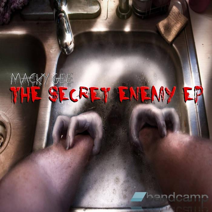 The secret enemy EP cover art