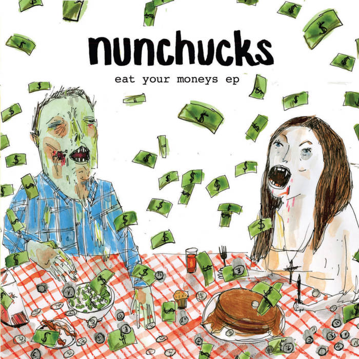 Eat your moneys EP cover art
