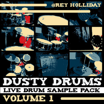 Dusty Drums Live Sample Pack Volume 1 cover art