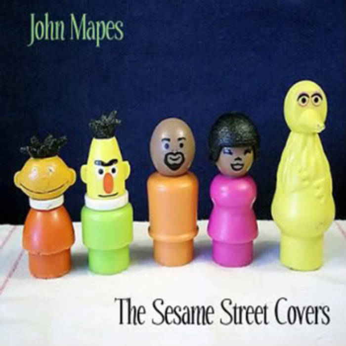 The Sesame Street Covers EP cover art