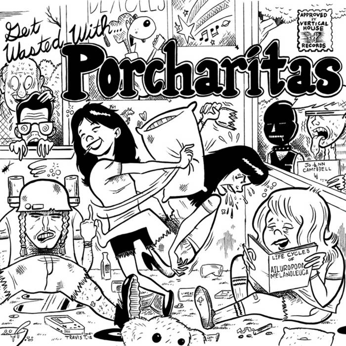 Get Wasted With The Porcharitas cover art