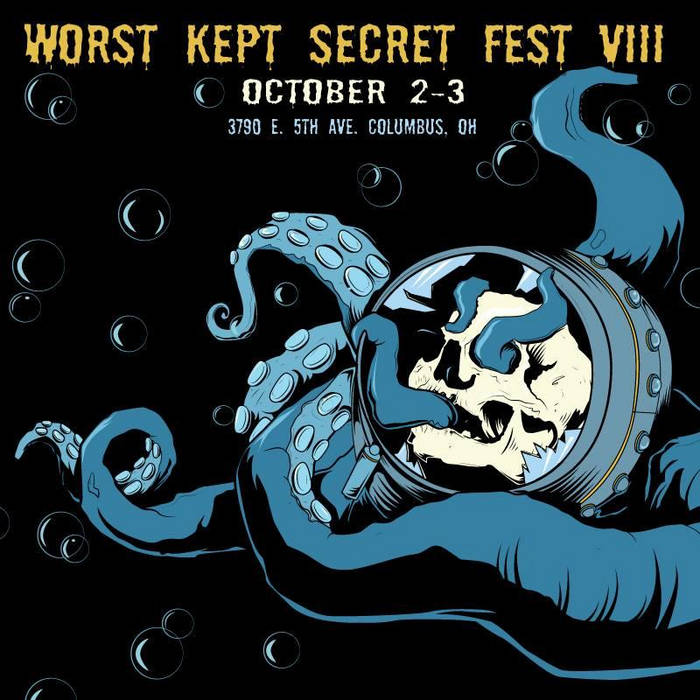 Worst Kept Secret Fest VIII cover art