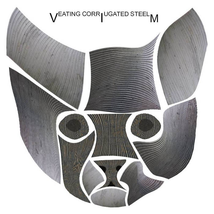 Eating Corrugated Steel cover art