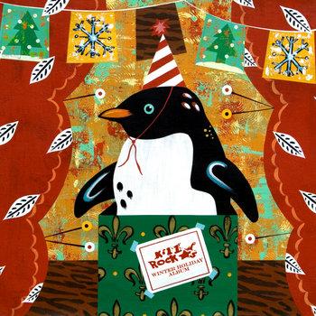 Kill Rock Stars Winter Holiday Album cover art