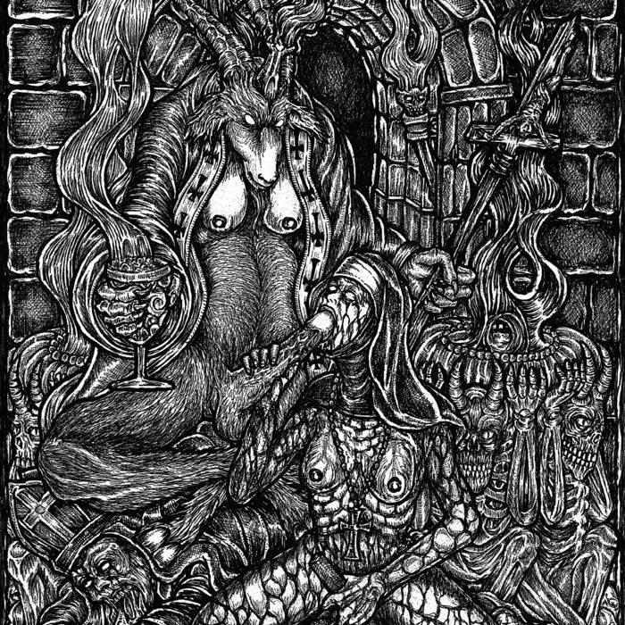 Upon the bones of the holy...We plant the seeds of Hate Demo Winter 2010 cover art