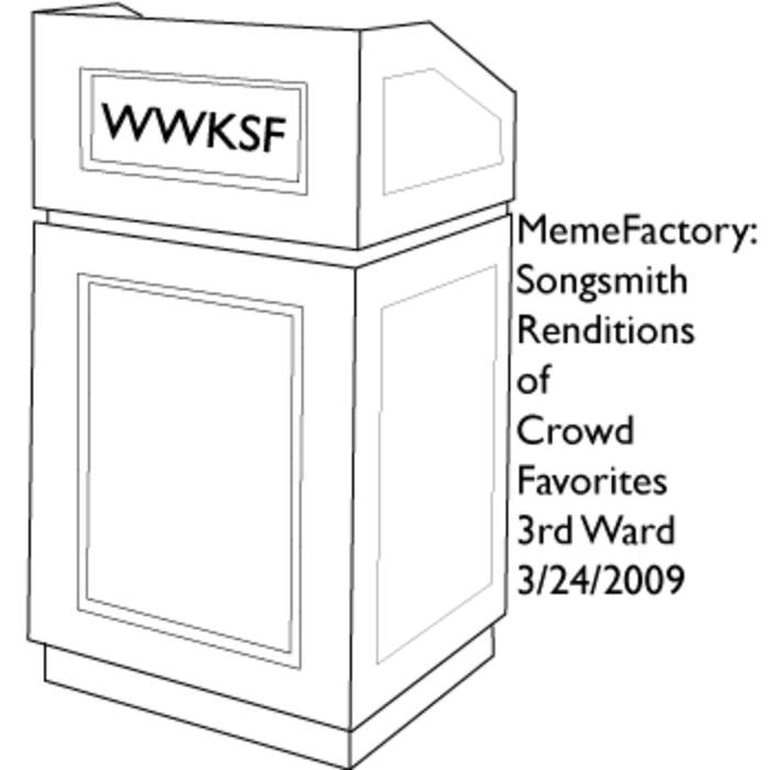 MemeFactory : Songsmith cover art