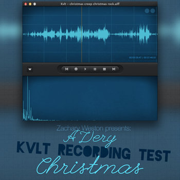 A Very Kvlt Recording Test Christmas cover art
