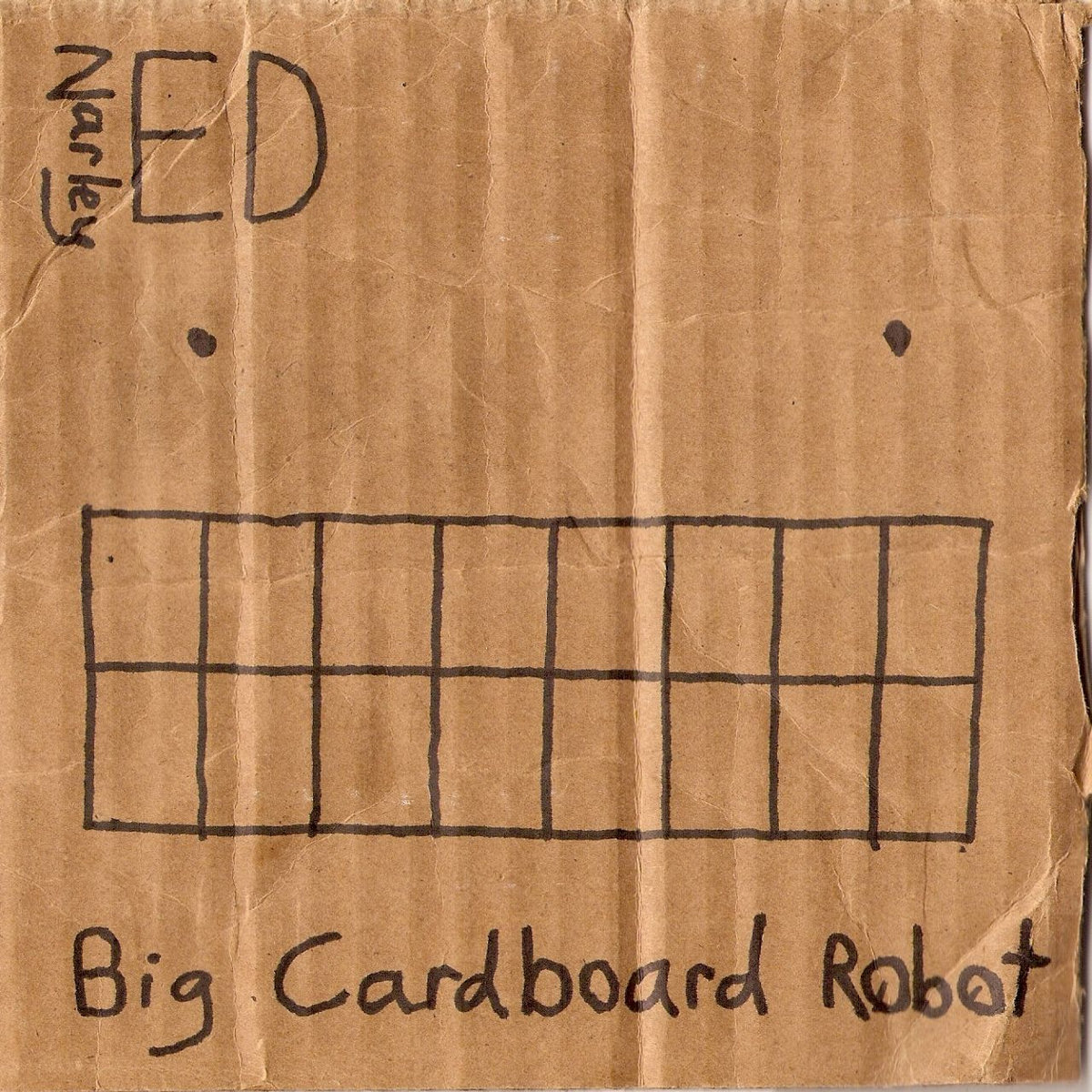 Cardboard Robots Band Big Cardboard Robot Cover Art