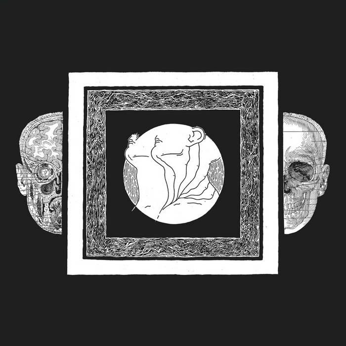 Ash Borer/Fell Voices Split LP cover art