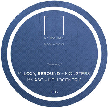 Narratives 005 - Loxy, Resound, ASC, Blocks & Escher cover art