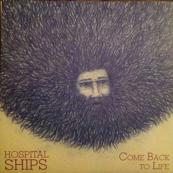 """Hospital Ships split 7"""" cover art"""