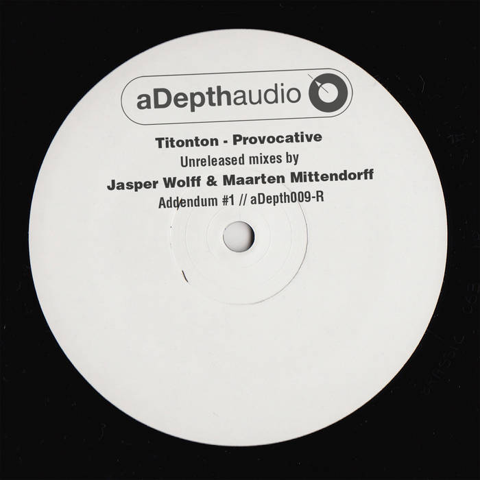 Provocative Unreleased Remixes By Jasper Wolff & Maarten Mittendorff cover art