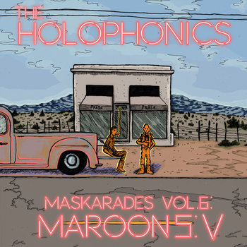 MaSKArades Vol. 6: Maroon 5: V cover art