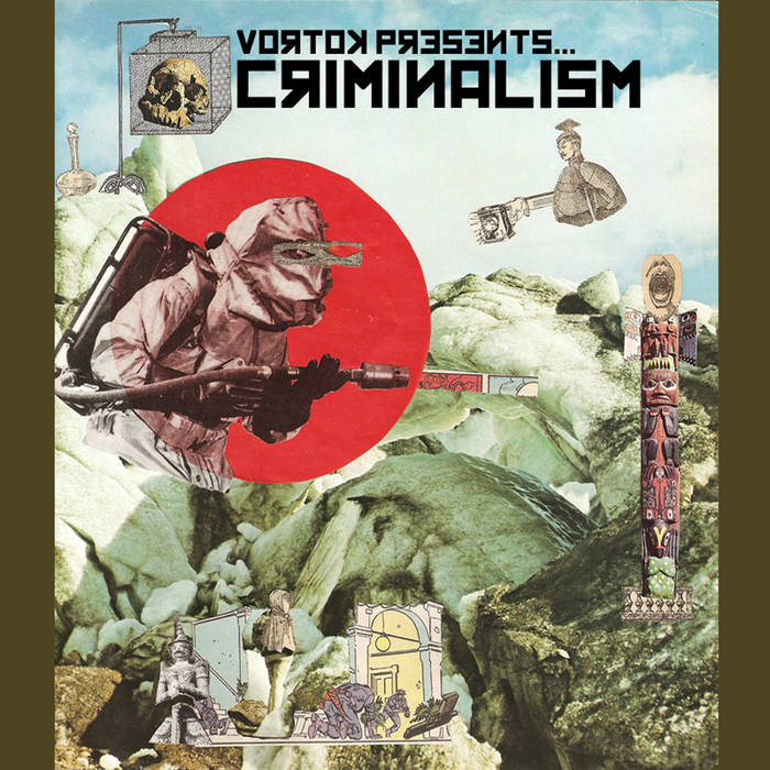 Criminalism EP cover art