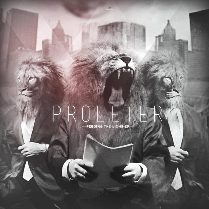 Feeding the lions EP cover art