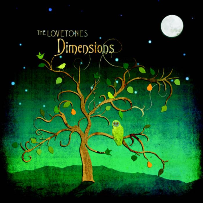 "The Lovetones - ""Dimensions"" CD cover art"