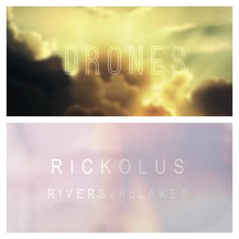 """D R O N E S / RICKOLUS - Split 12"""" (2014)"""