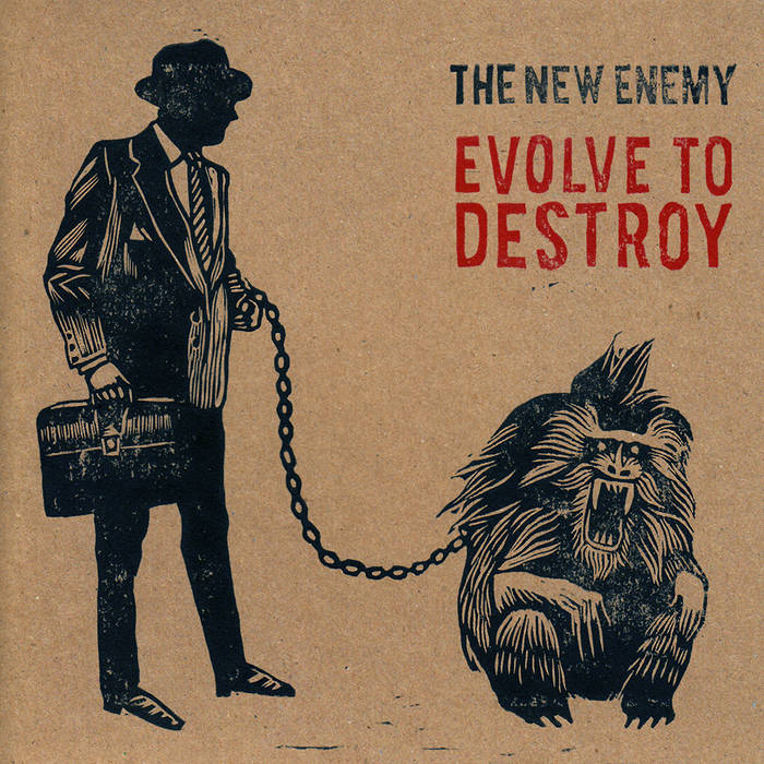 Evolve To Destroy EP cover art