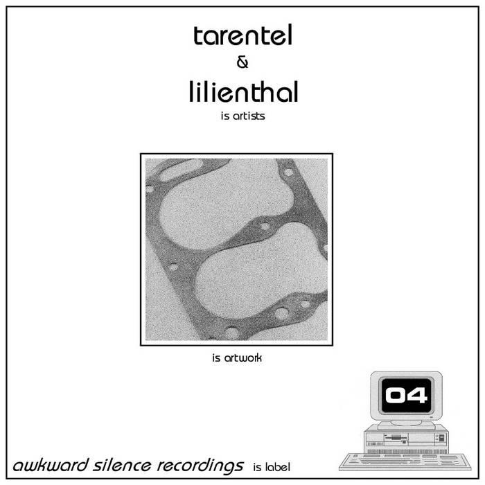 Tarentel / Lilienthal - split EP cover art