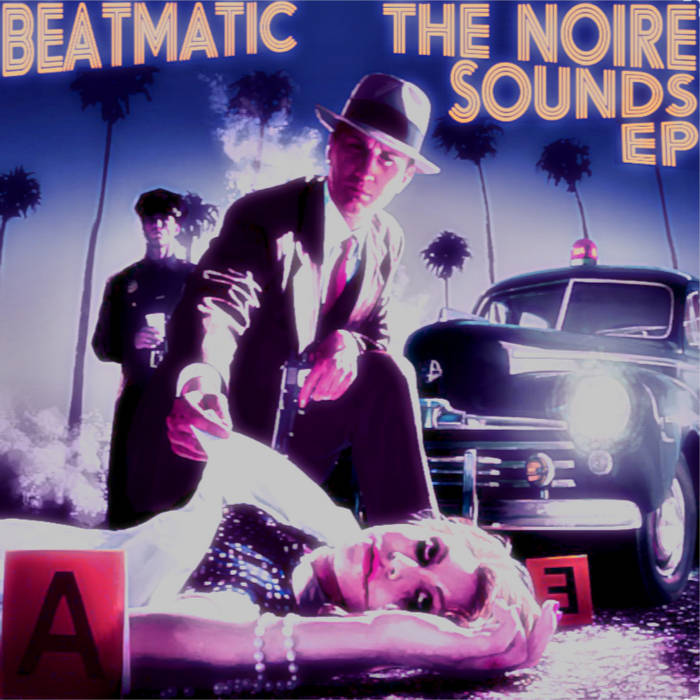 The NOIRE Sounds EP cover art