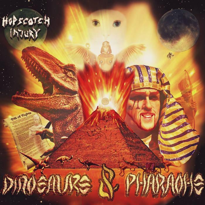 Dinosaurs & Pharaohs cover art