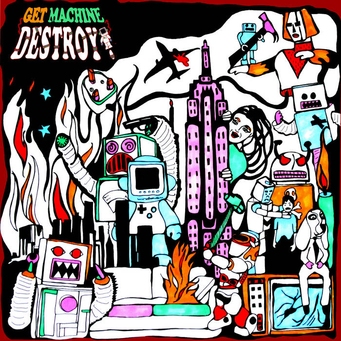 Get Machine, Destroy! cover art