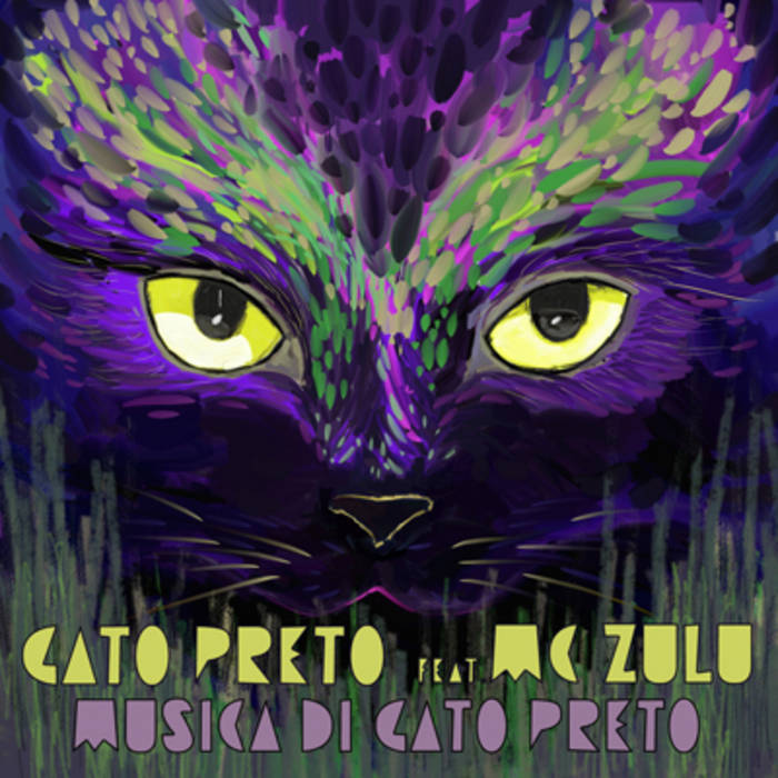 Musica Di Gato Preto EP feat. MC ZULU cover art