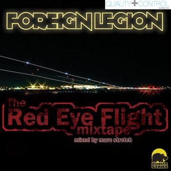 Foreign Legion - The Red Eye Flight Mixtape cover art